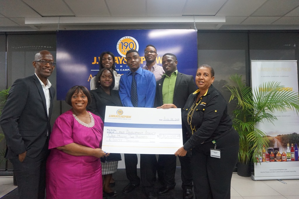 Six Wards of the State among J.Wray & Nephew  Scholarship Recipients