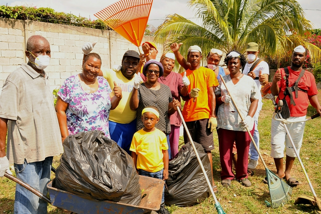 Staff At Glenhope Nursery Conducts Clean Up Exercise Of The Property